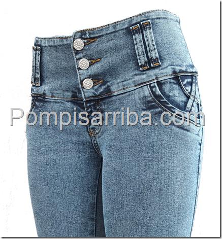 Jeans Pompis Arriba de mayoreo