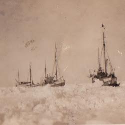 Skuter i isen