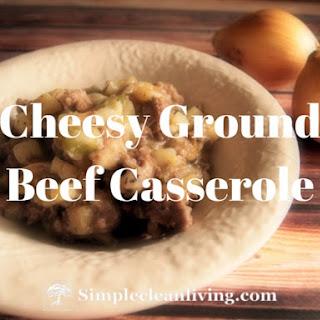 Cheesy Ground Beef Casserole.