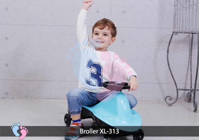 Xe lắc cho bé Broller XL 313 4