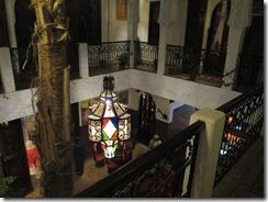 Riad inner courtyard