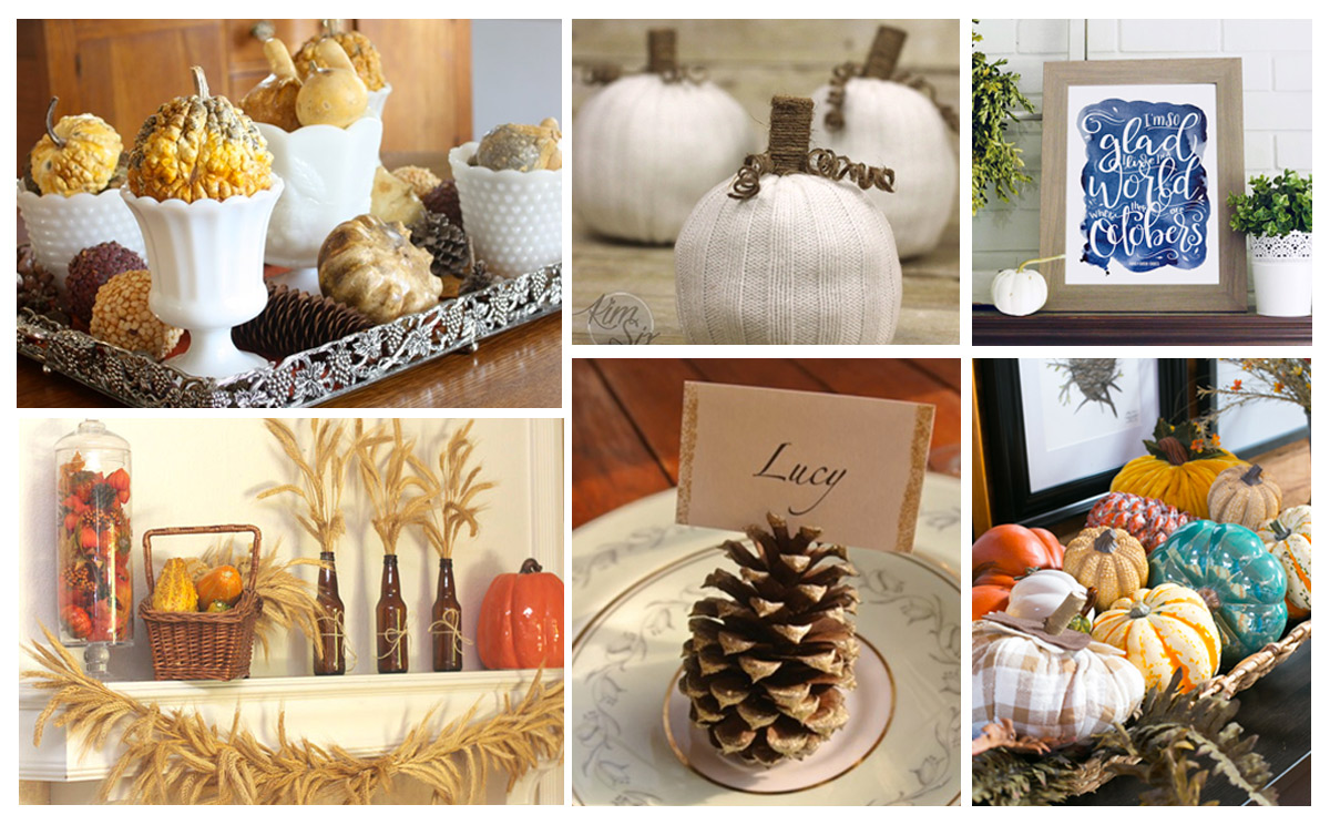100 autumn decorating ideas