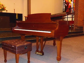 This is our beautiful Steinway piano.November 13, 2011