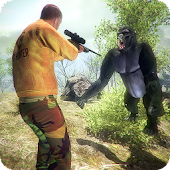 Gorilla Animals Hunting 3D Wild Apes Shooting 2018