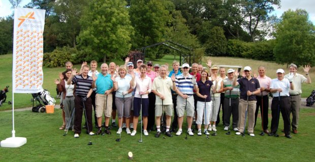 Finalists of the National Church Golf Cup at Donnington Grove Country Club, Newbury 2010