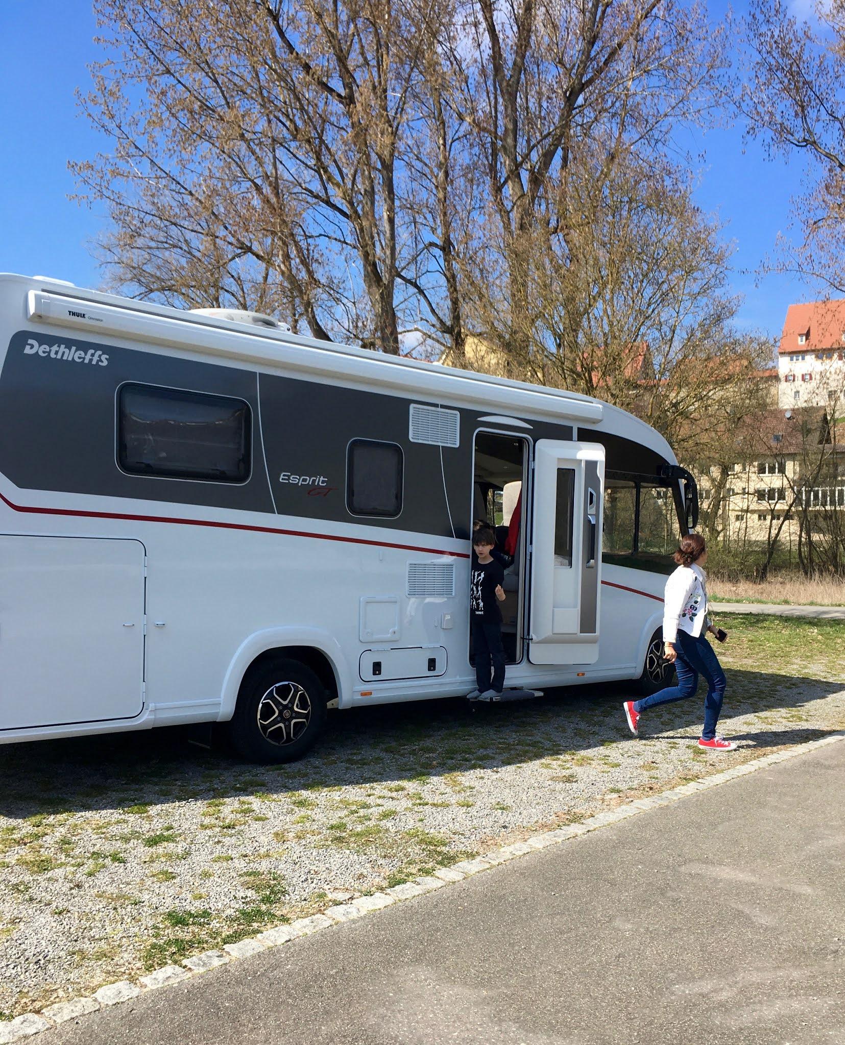 Neudenau an der Jagst! Tagesausflug mit dem Wohnmobil - unserem Dethleffs Esprit