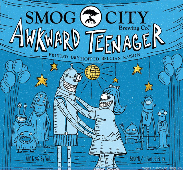 Smog City Releasing Awkward Teenager & More 4/28