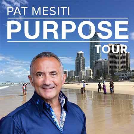 Pat Mesiti Purpose Tour Gold Coast