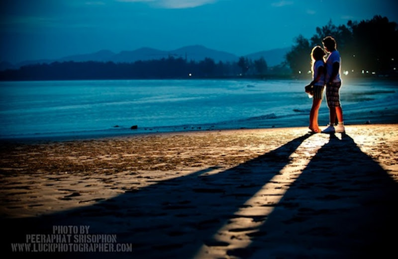Ideas for pre wedding photoshoot in a night