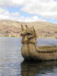 Totora Reed Boat, Lake Titicaca  [2004]