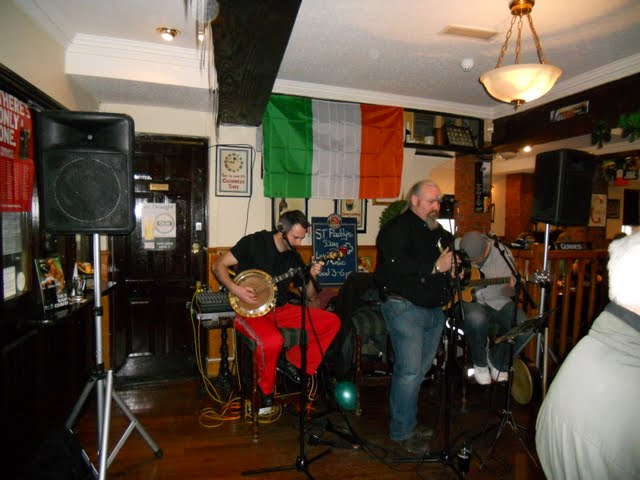 Celebrating St. Patrick's Day in Dublin Ireland - Trad Music at Scruffy Murphy's