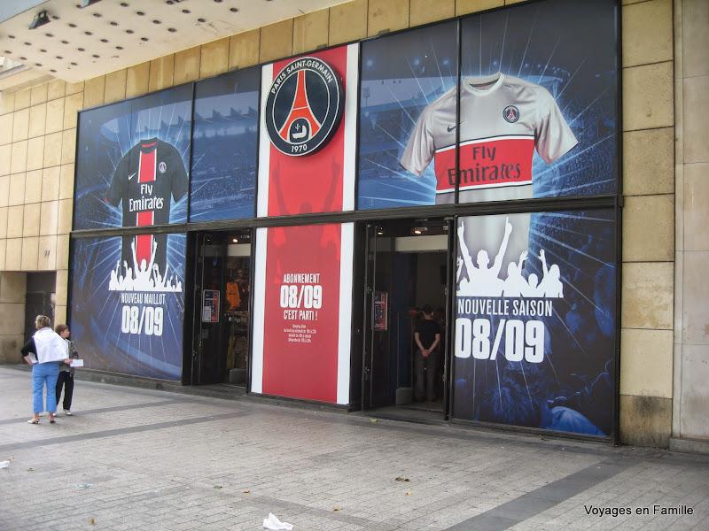 PSG champs elysées