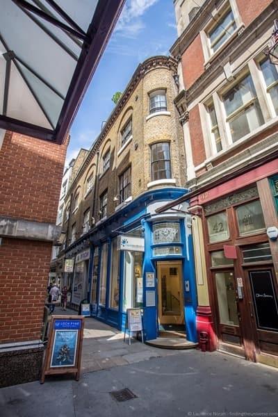 Harry Potter Filming Location London - Leadenhall Market