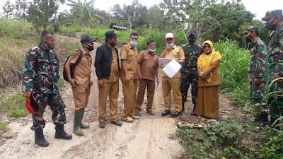 Optimalisasi Pra TMMD, Amasrul Tinjau Sasaran Fisik Nagari Tanjung Alai