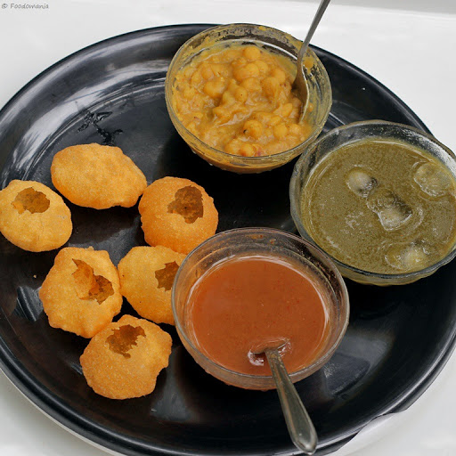 Pani Puri Recipe | How to make Gol Gappa step by step | Learn how to make pani puri at home | written by Kavitha Ramaswamy of Foodomania.com