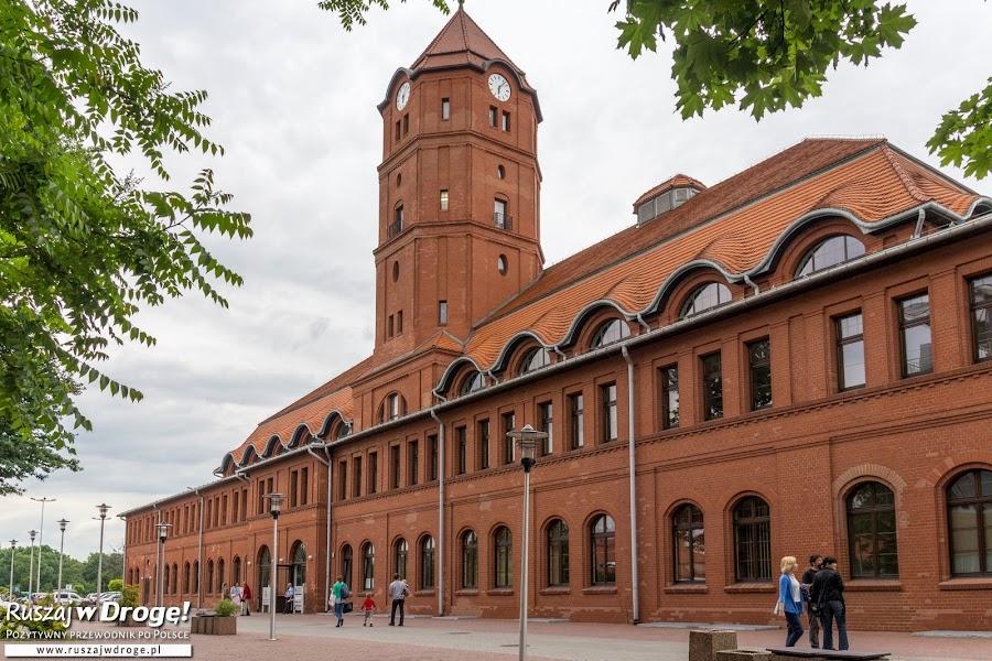 Budynki byłej kopalni w Gliwicach