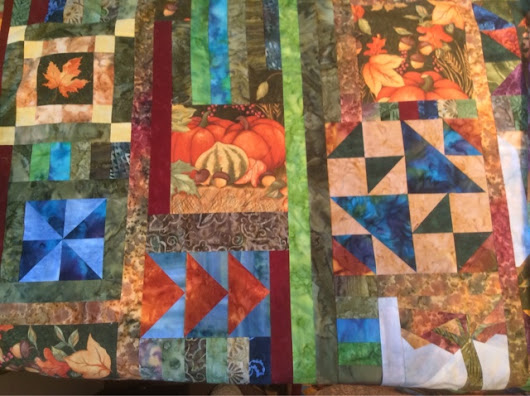 Making a Collage Quilt