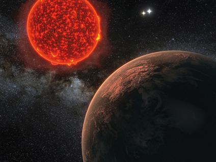 Proxima b próximo de sua estrela