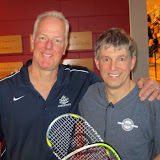 Men's 50+: Finalist - Robert Brownell (Harvard Club); Champion - Willard Bigelow (Concord-Acton Squash Club)