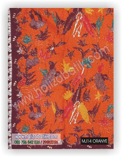 Gambar Baju Batik, Macam Macam Motif Batik, Harga Kain Batik, MJ14 ORANYE