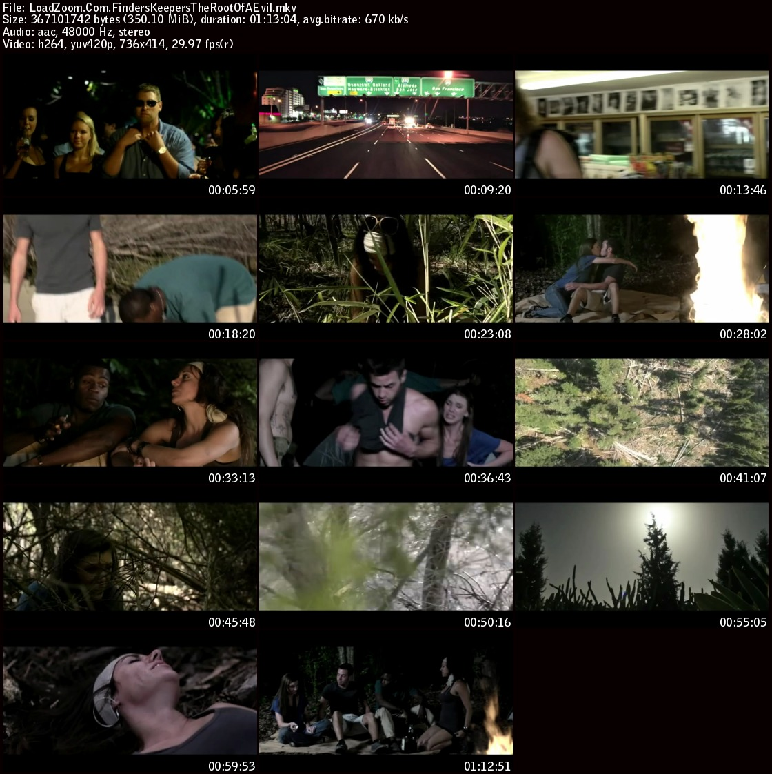movie screenshot of Finders Keepers The Root of All Evil fdmovie.com