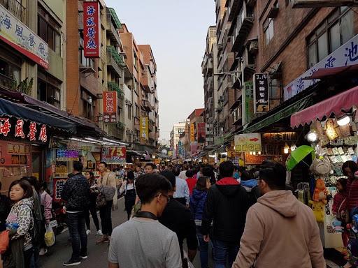 Tamsui Old Street in Taiwan