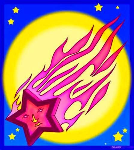 Ufo And Falling Stars