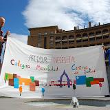 CONCENTRACION EQUIPAMIENTOS GOBIERNO DE ARAGON-23 de abril de 2012
