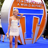 OIC - ENTSIMAGES.COM - Kimberley Garner at the Tomorrowland: A World Beyond European Premier in London 17th May 2015  Photo Mobis Photos/OIC 0203 174 1069