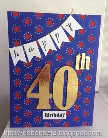 knk zing, minc, foil, 40th birthday