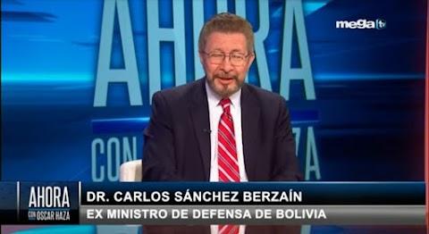BERZAIN: Perú, Chile, Bolivia, Argentina, Nicaragua, las dos Américas