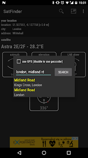 SatFinder- screenshot thumbnail