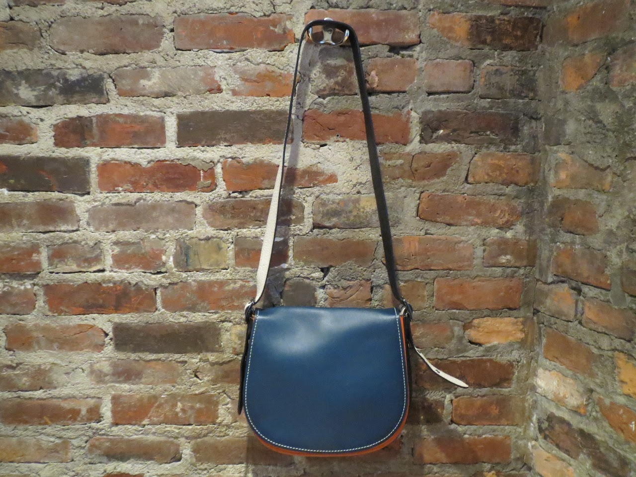 Coach Colorblock Saddle Bag
