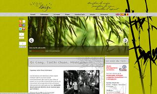 site La Voie du TaiChi Béziers