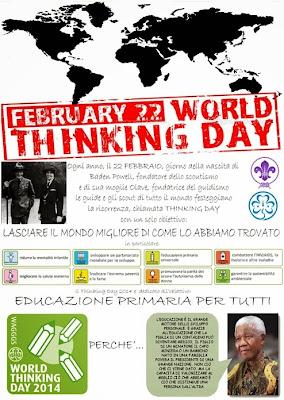 alcuni riferimenti: Thinking Day 2014