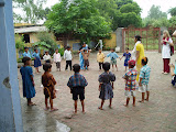 PVs assist with afternoon activities at the primary school
