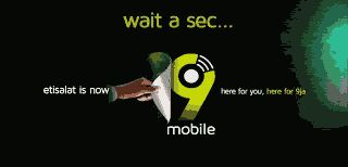 Bye bye to Etisalat, Welcome to 9mobile