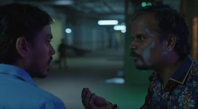 Nalneesh Neel (right) in a still from The White Tiger