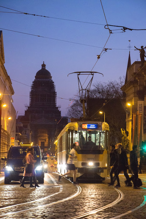 Tramway, Brussels