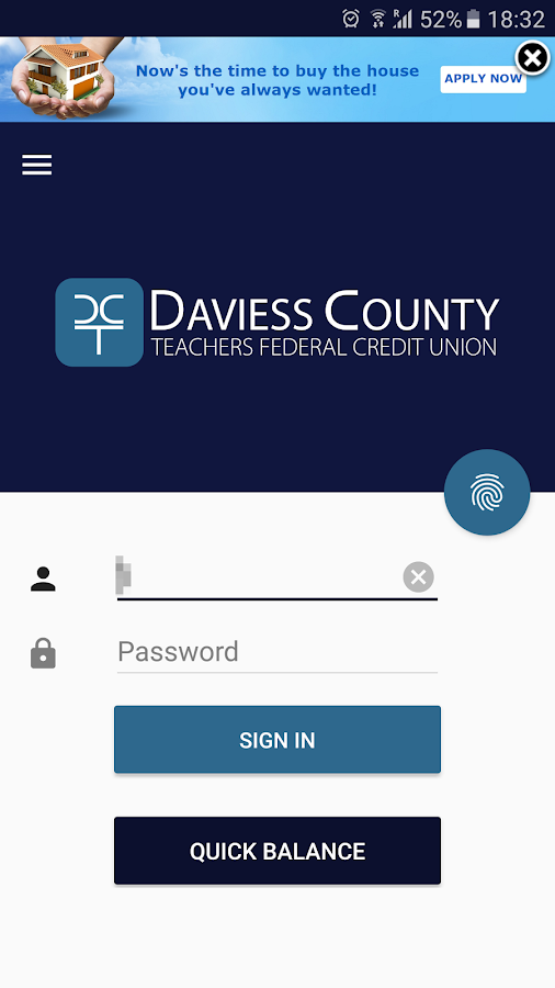 Daviess County Teachers FCU- screenshot