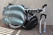 Провоз сумки в велосипеде