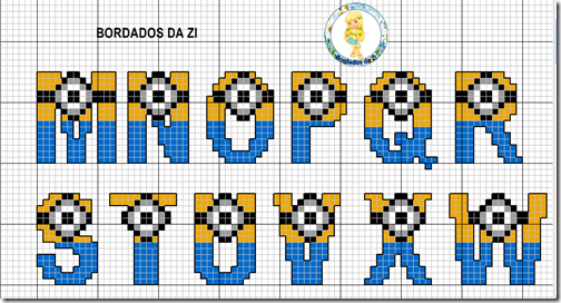 abc minions letras azules (2)