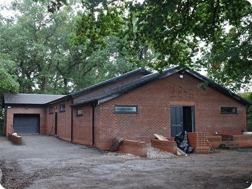 Exterior of Wistaston Scout Groups  new Scout Centre