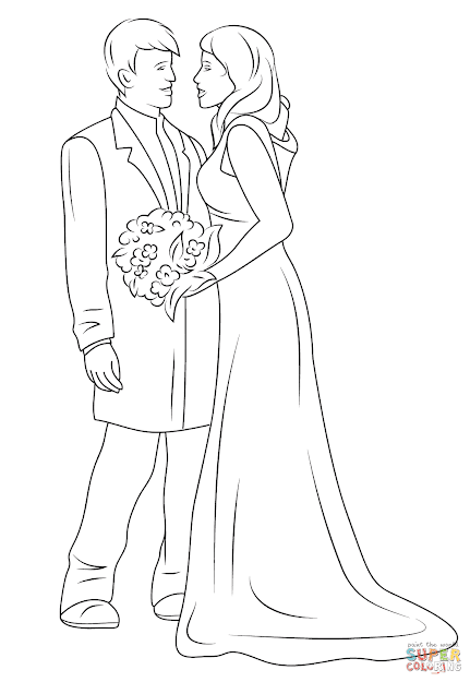 Wedding Couple Coloring Page Free Printable Coloring Pages In Brilliant  Free Printable Day Dead Coloring Pages