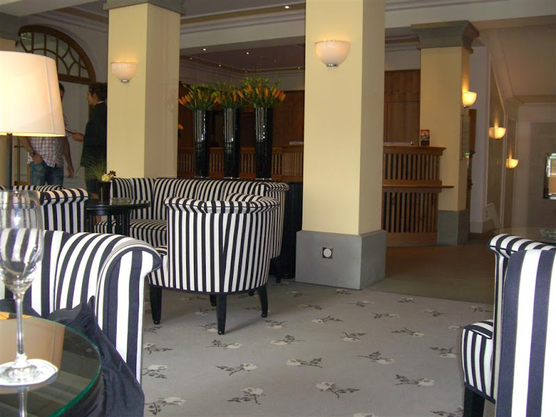 reception grand hotel bellevue gstaad