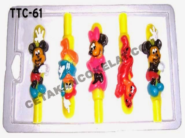 Cetakan Coklat TTC61 Mickey Mouse Donald Duck