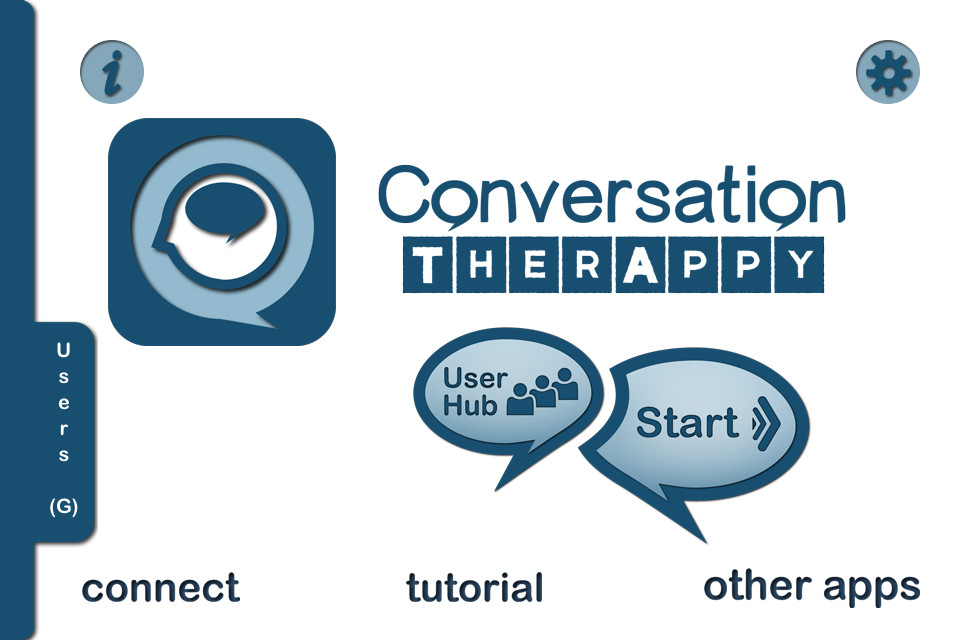 Conversation TherAppy Main Page