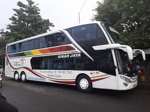 Bus Sinar Jaya Double Decker