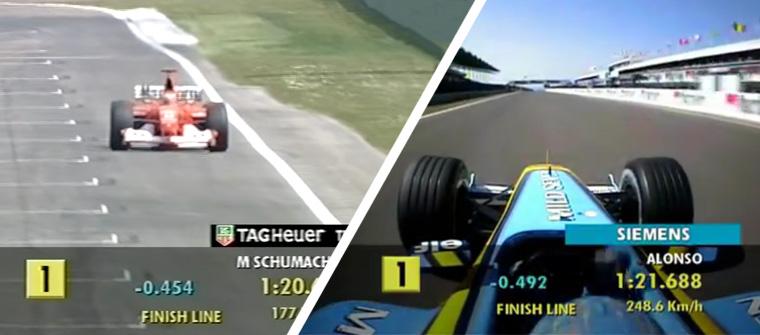 En 2003 se clasificó por primera vez a una única vuelta lanzada