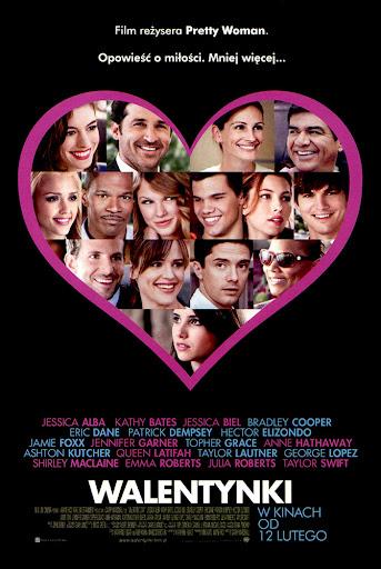 Przód ulotki filmu 'Walentynki'